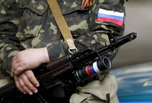 Цинизм агрессора: Оккупанты Донбасса на камеру обстреляли собственные позиции, прикрываясь женщинами