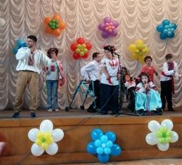 День защиты детей в Днепропетровске - 1 июня 2016 год