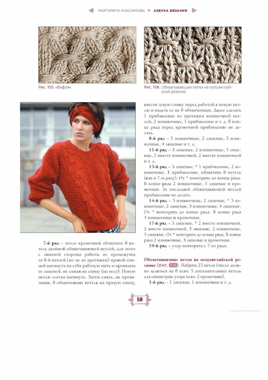 Азбука вязания спицами максимова м в