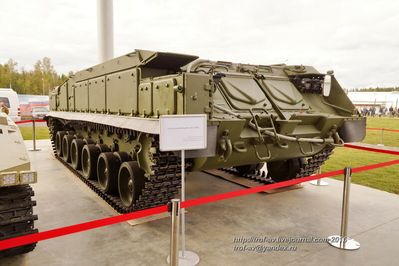 Гусеничная машина ГМ-569МБ. Форум Армия-2016, парк Патриот