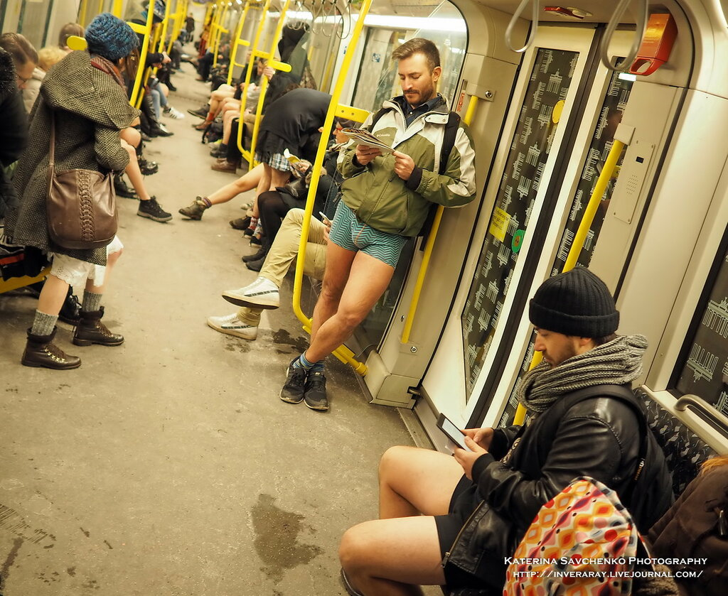 No Pants Day in Berlin (08.01.2017)
