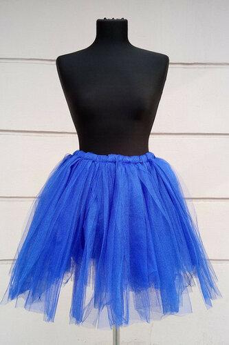Женский карнавальный костюм Юбка синяя