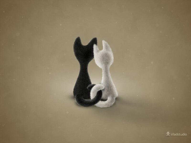 Черная кошка, белый кот_vladstudio.jpg