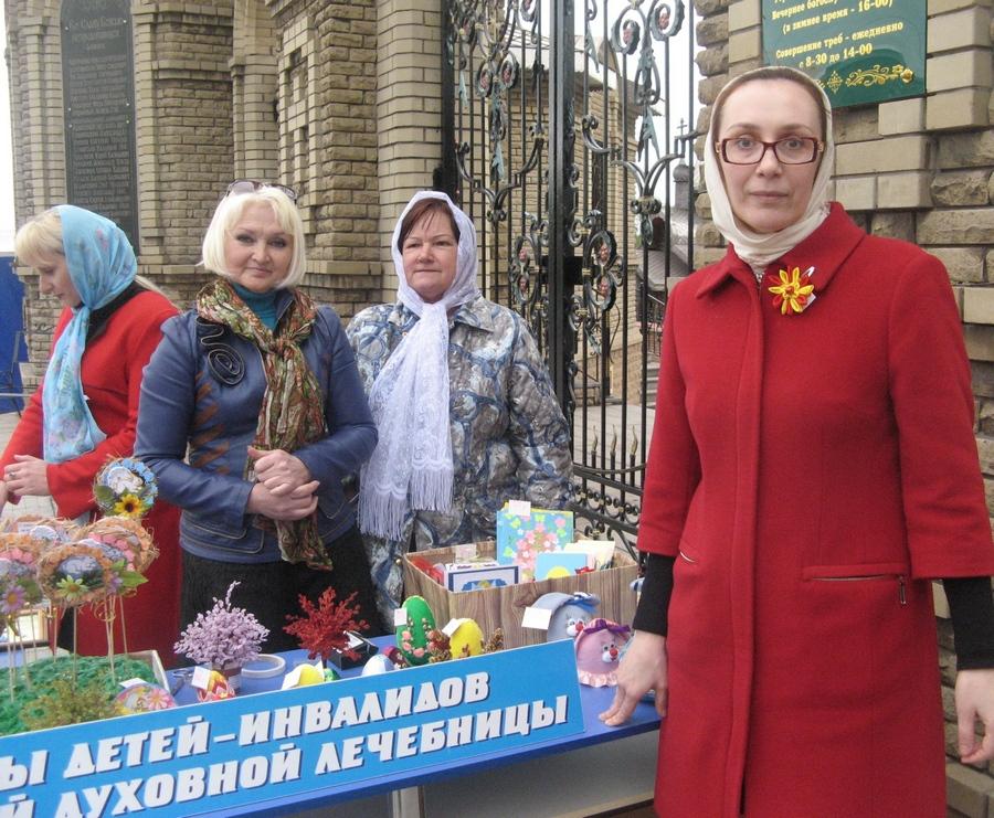 Пасхальные новости из Алчевска