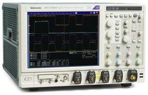 Цифровой осциллограф DPO72504DX  . Внешний вид