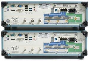 Цифровой осциллограф DPS77004SX - вид сзади