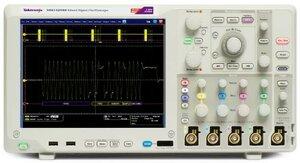 Цифровой осциллограф MSO5104B - передняя панель