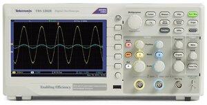 Цифровой осциллограф TBS1052B - вид спереди