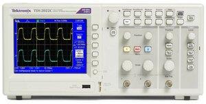 Цифровой осциллограф TDS2001C - передняя панель