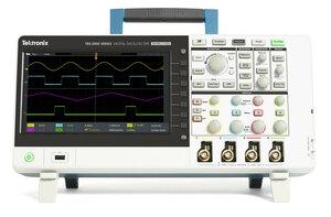 Цифровой осциллограф TBS2104 - Вид спереди