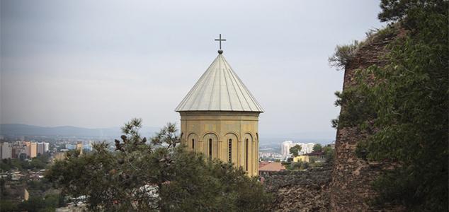 Крепость Нарикала - популярная достопримечательность Тбилиси