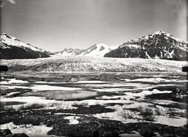 Ледник Менденхолл, Аляска — 2008 Исторические данные показывают, что этот ледник уменьшался с 1700–х