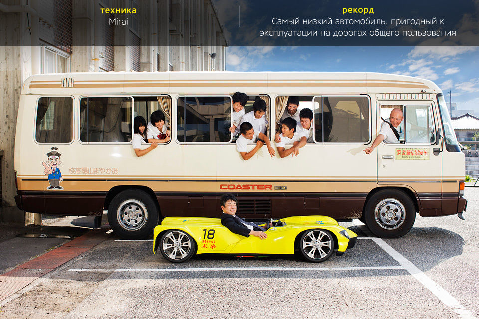 Mirai – не путать с водородным седаном Toyota – создали преподаватели и студенты Okayama Sanyo High