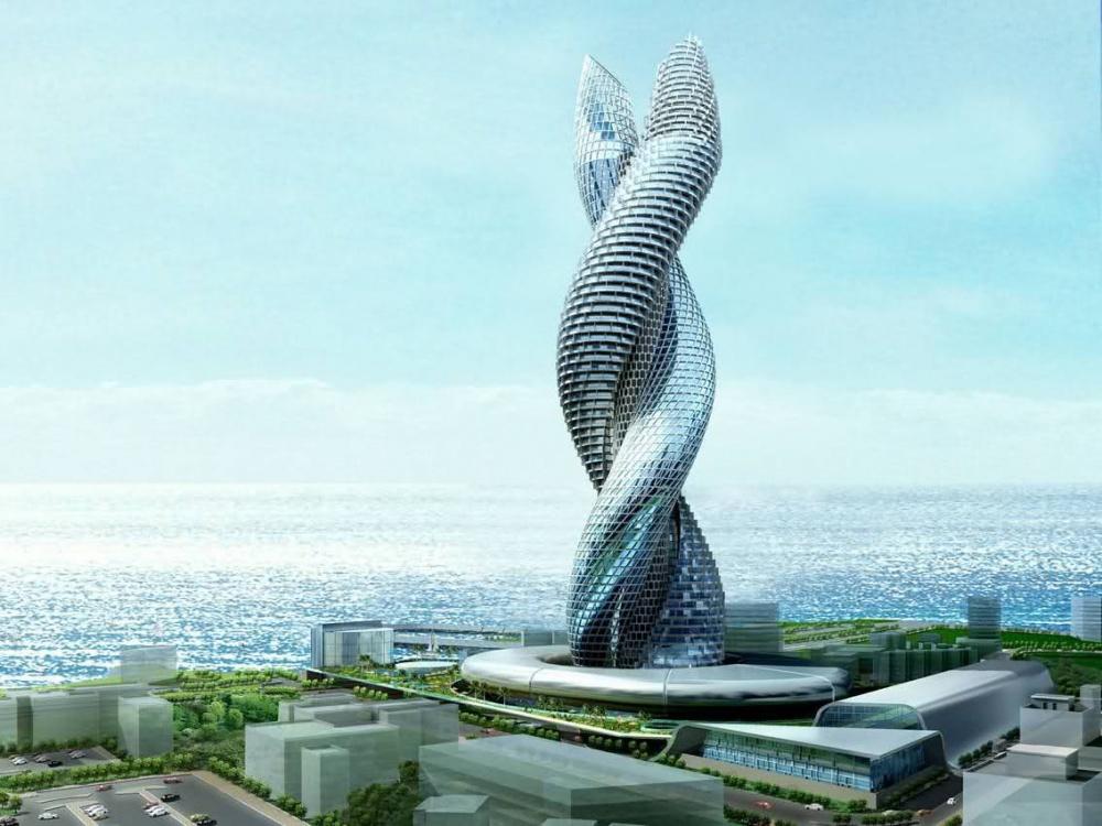 Сobra Towers Kuwait— один изсамых обсуждаемых всети архитектурных проектов. Небоскреб-город высот