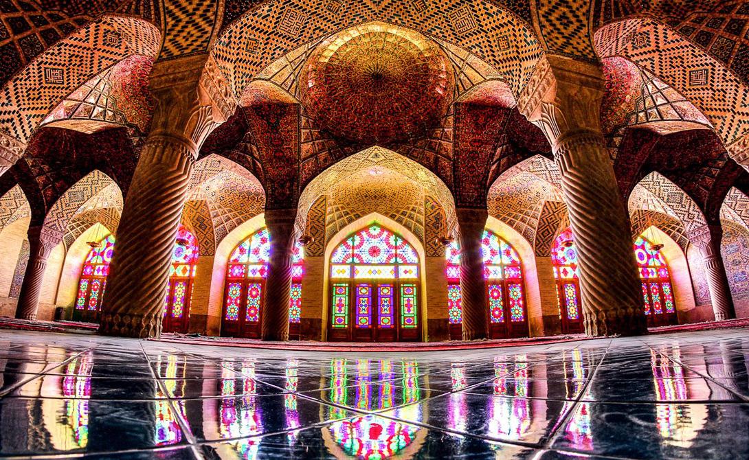 Мечеть Сейед в Исфахане была построена в 19 веке.