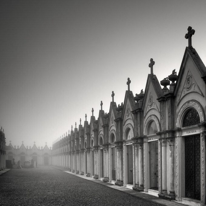 Тишина в чёрно-белой фотографии Пьерра Пеллегрини