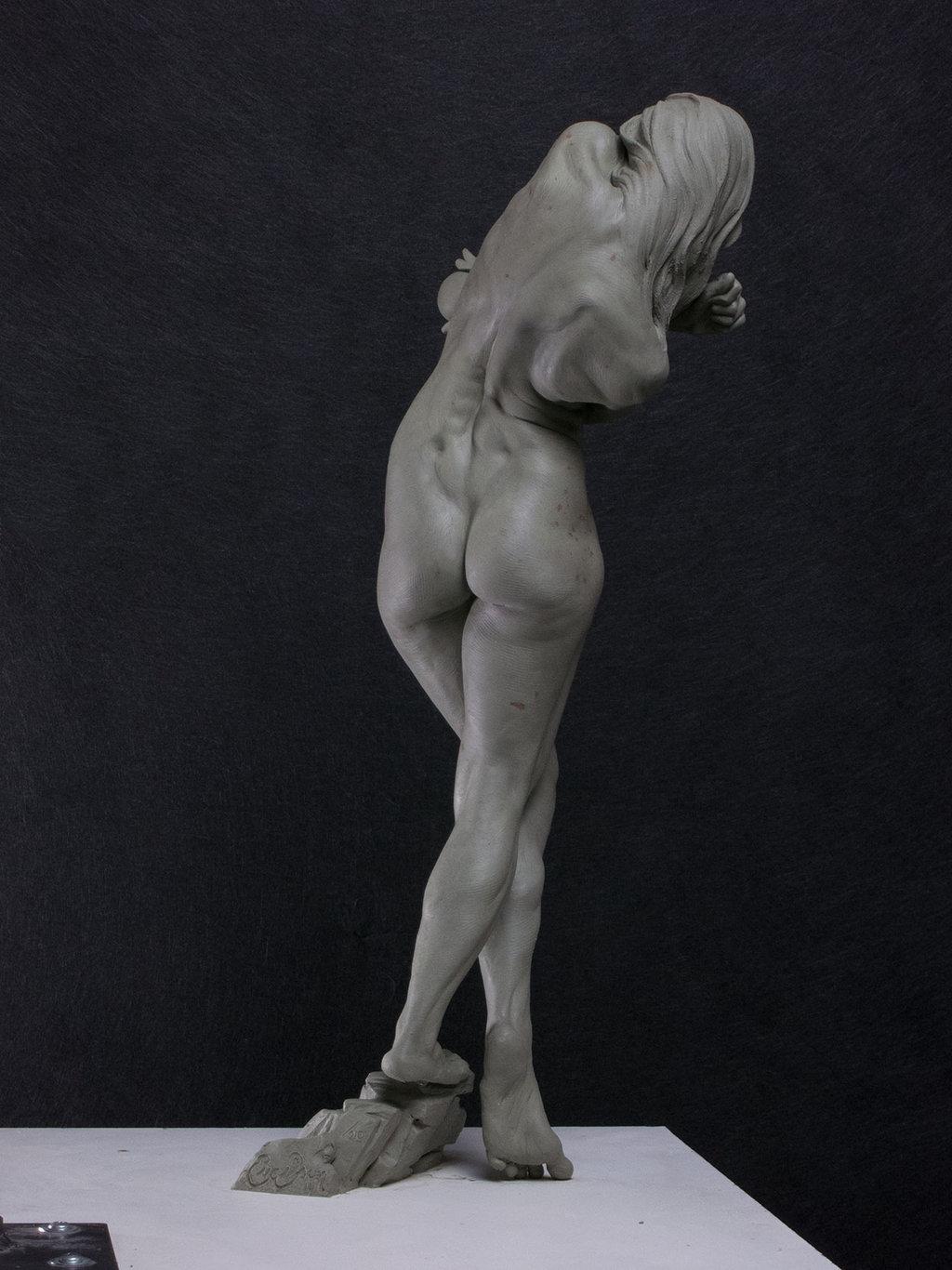 Скульптура голой девушки фото 28 фотография
