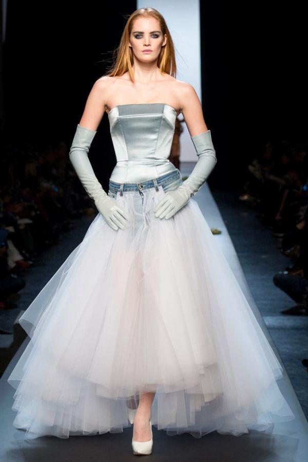 Неделя высокой моды в Париже: Jean Paul Gaultier весна-лето 2015