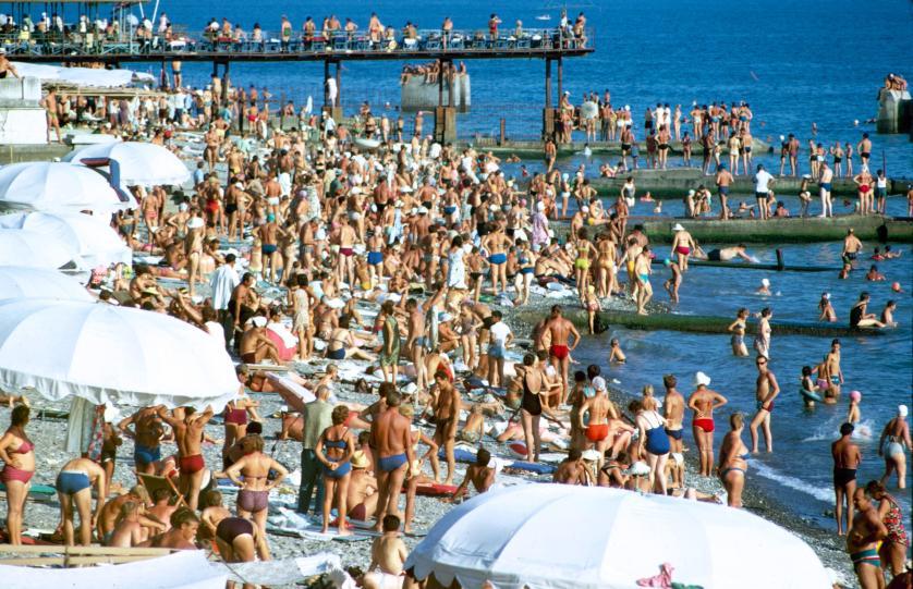 Лето — это всегда пляжный отдых. Фото: Билл Эппридж.