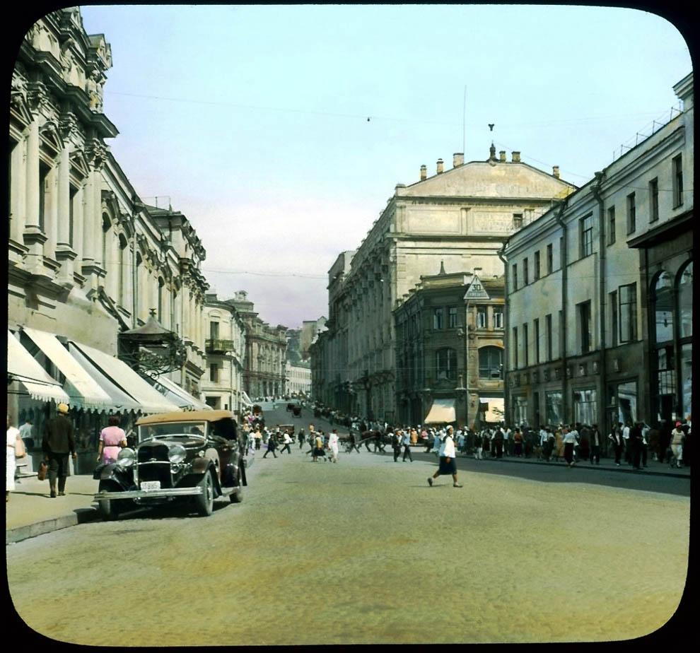 Улица Кузнецкий Мост.