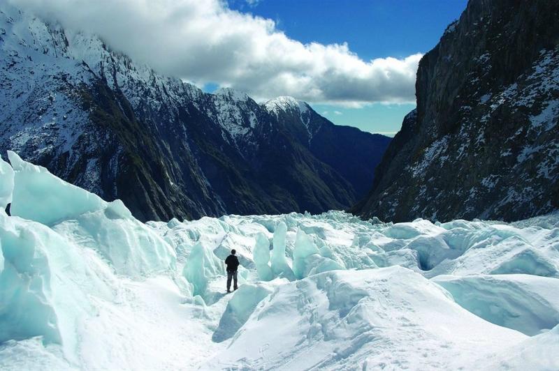 Самые красивые крупнейшие ледники мира: Франца Иосифа, Новая Зеландия