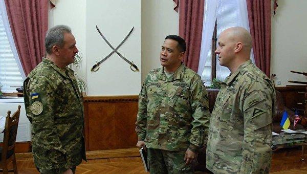 Украина рассчитывает напомощь США вподготовке военнослужащих