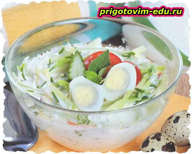 Огуречный суп с авокадо