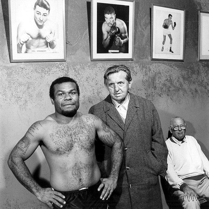 Ernest McQuinlan's Boxing Club, Sydney, Australia, 1987