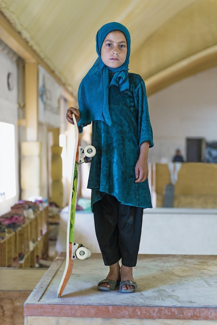 Australian skateboarder Oliver Percovich created the non-profit Skateistan in 2007, a grassroots pr