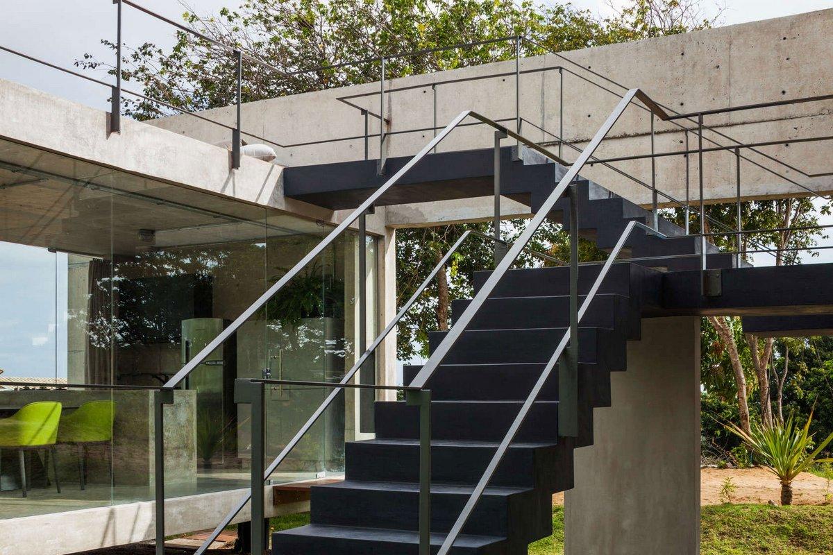 Концептуальный дом в Бразилии