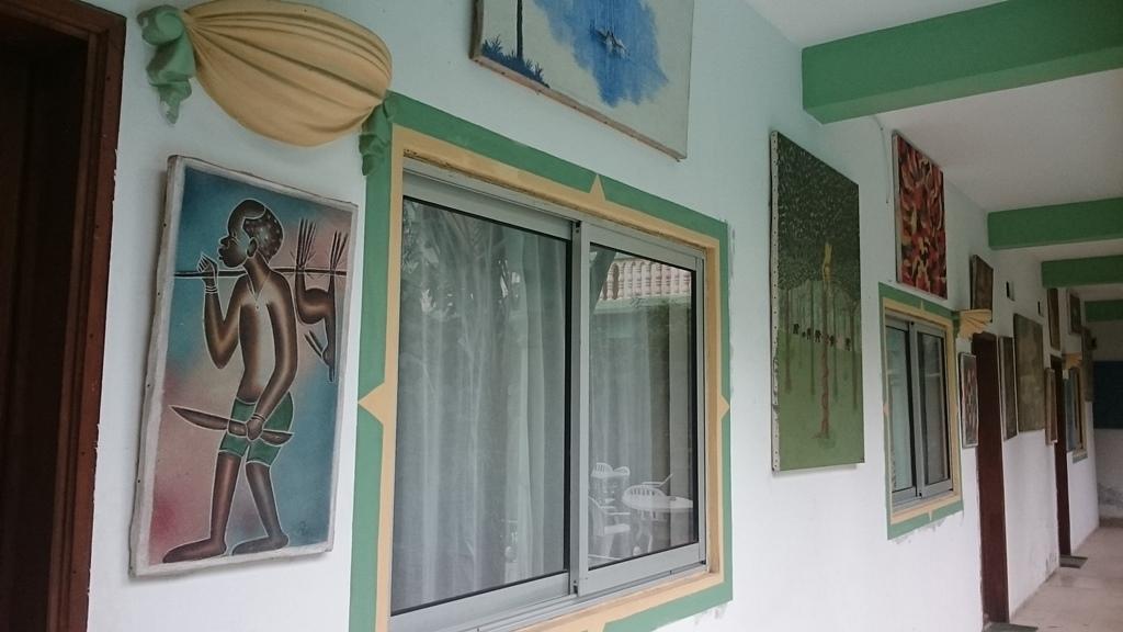Браззавиль, отель Манама