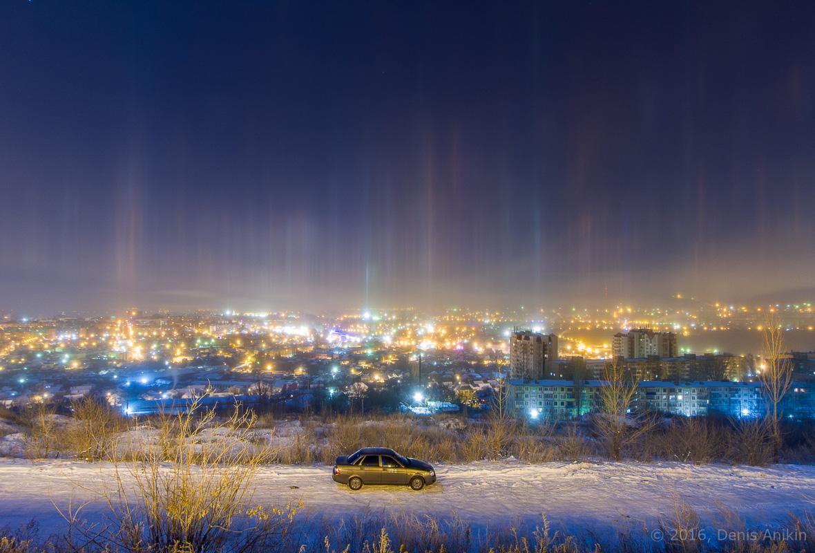 Световые столбы Саратов фото 5