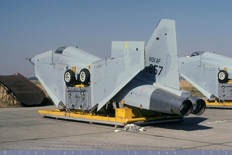61-657 - F-5E Tiger II - Republic of Korea Air Force - McClellan AFB - 10-Oct-78