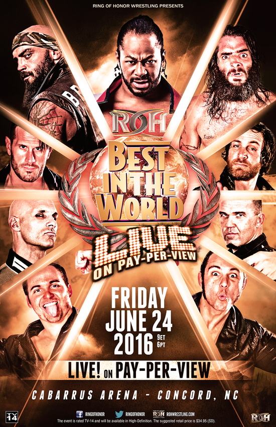 Post image of ROH Best In The World 2016