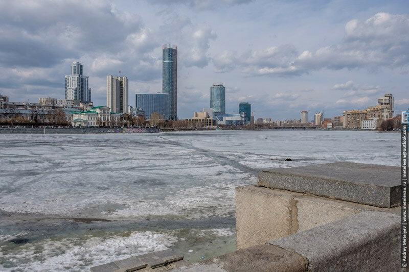 другой берег Исети город Екатеринбург