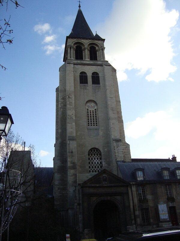 Париж. Церковь Сен-Жермен-де-Пре (1)