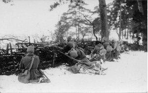 1915. Оборона предместья города Прасныш