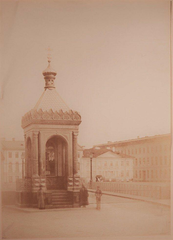 Николаевский (Благовещенский) мост. 1909.