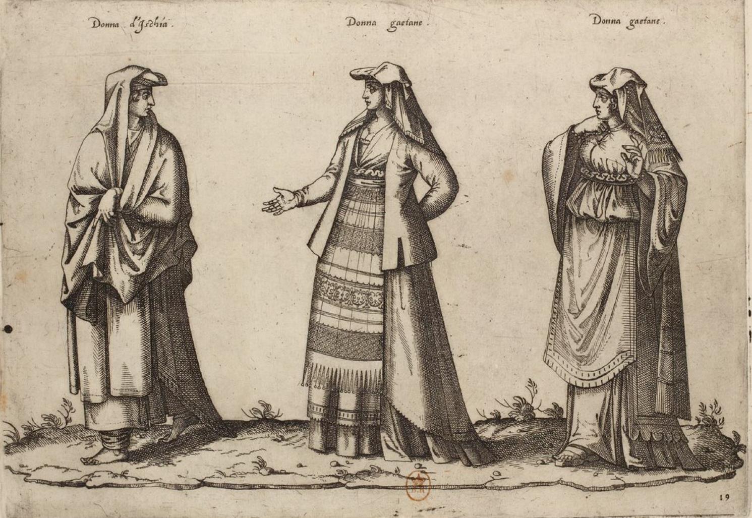 Женщины с острова Искья и города Гаэта