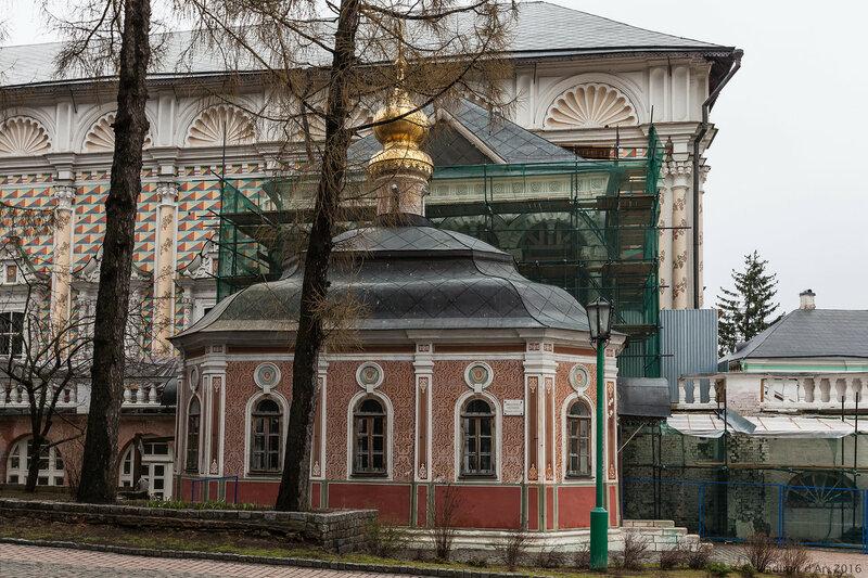 Церковь в честь явления Божией Матери прп. Сергию (Михеевская)