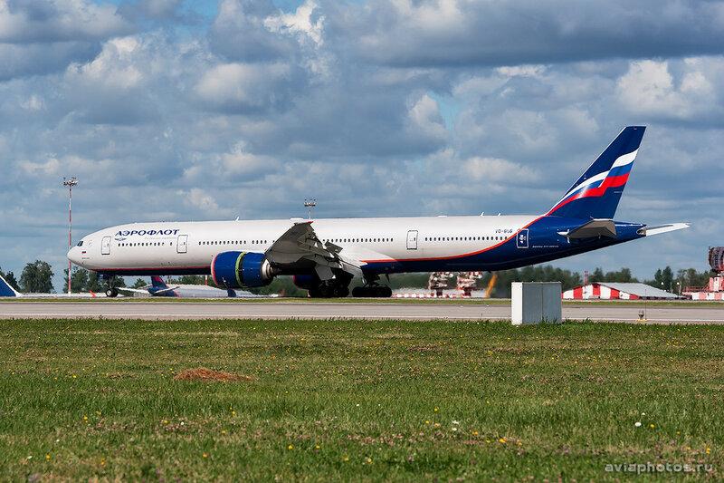 Boeing 777-3M0/ER (VQ-BUB) Аэрофлот 0164_D703428