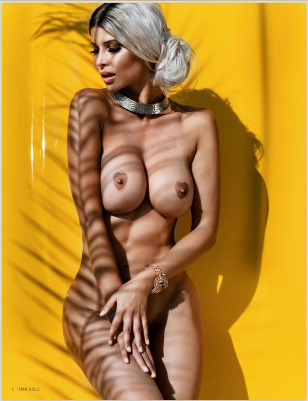 Микаэла Шефер в журнале Femme Rebelle