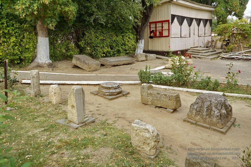 Лапидарий Историко-культурного, мемориального музея-заповедник