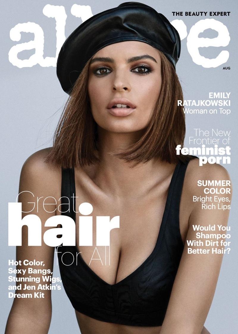 Эмили Ратажковски в Allure Magazine
