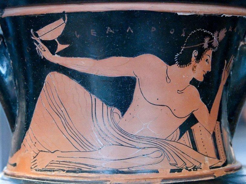 греческие развлечения Древняя Греция исторические развлечения история Коттаб