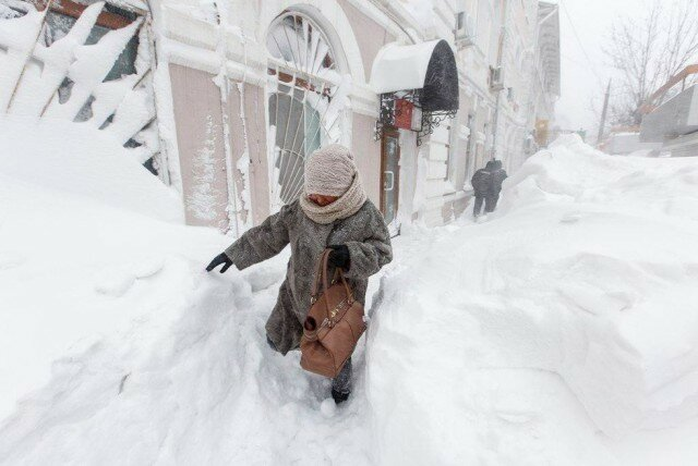 Дорога до работы (Владивосток)