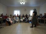 В Покровском епархиальном образовательном центре прошел открытый урок посвященный празднику Покрова Пресвятой Богородицы