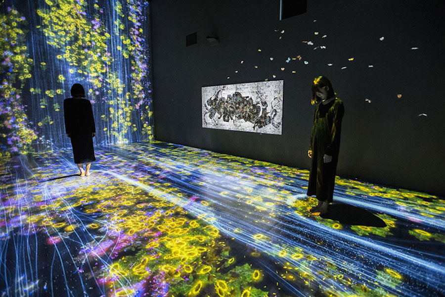 Immersive Interactive Installation in an Art Gallery in London