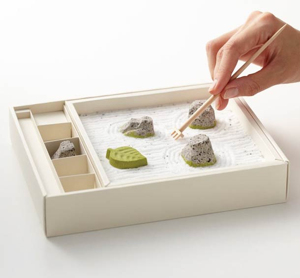 Edible Zen Garden – Cute and relaxing japanese sweets…