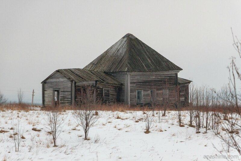 Спасо-Преображенская церковь, Андома-гора, Вологодская область